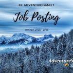 BC AdventureSmart Winter 2020-21 Job Posting